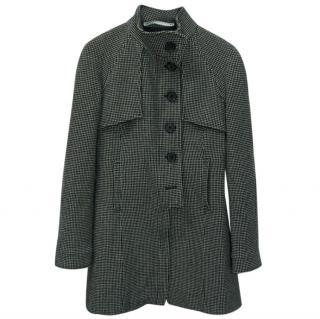 Won Hundred Alison gingham wool coat