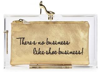 Charlotte Olympia Shoe Business Pandora clutch