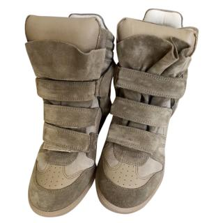 Isabel Marant Becketts wedge trainers