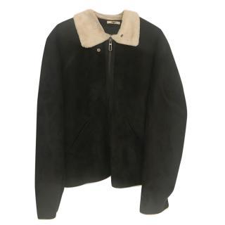 Armani point-collar jacket