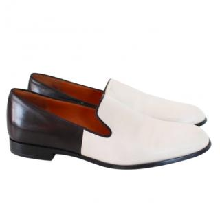 Marc Jacobs chic colour-block leather loafers