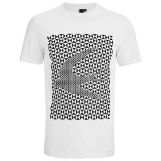 McQ swallow-print crew-neck cotton T-shirt