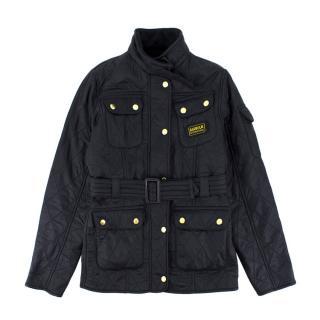 Barbour International Navy Polarquilt Jacket