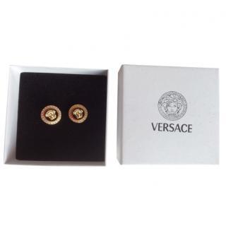 Versace Medussa Stud Earrings