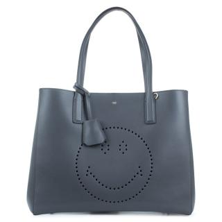 Anya Hindmarch Ebury Smiley leather shopping tote