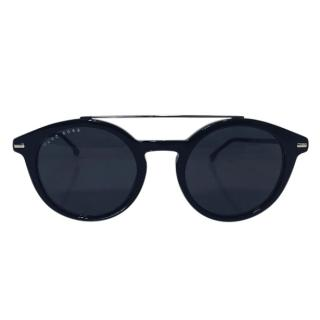 Hugo Boss Round-Frame Sunglasses