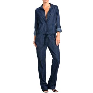 Citizens of Humanity Annaika dark-blue denim jumpsuit