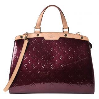 Louis Vuitton Brea Patent GM Bag
