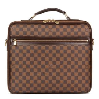 Louis Vuitton Brown Coated-Canvas Sabana Computer Case