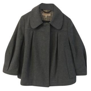 See by Chloe grey short swing jacket