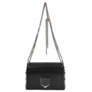 Jimmy Choo Lockett Petite leather handbag