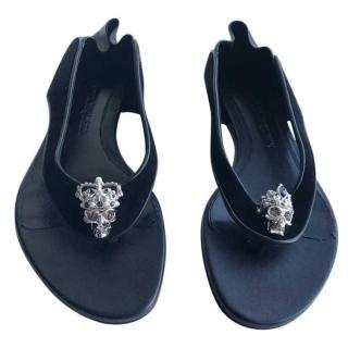 Alexander McQueen Babushka flat sandals