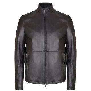 Hugo Boss Nabino Nappa Leather Jacket