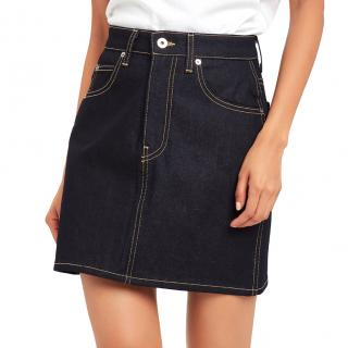 Eve Denim Tallulah denim mini skirt