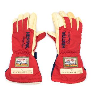 Hestra X Philippe Roux Leather Ecocuir Ski Gloves