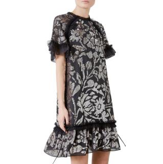 Needle & Thread Gloss Floral Embellished Dress - New Season