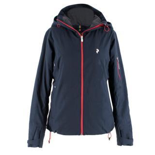 Peak Performance Navy Ski Jacket