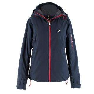 Peak Performance Navy Ski Jacket