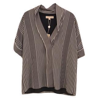 Michael Michael Kors navy/ white top