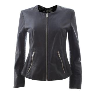 Theyskens' Theory 'Jadra' Lambskin Leather Jacket