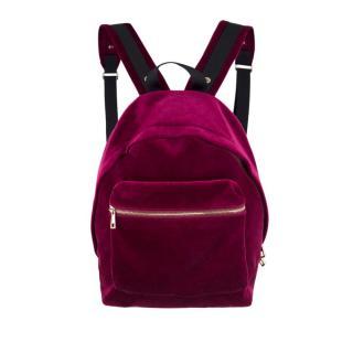 Sandro Avril Velvet Backpack