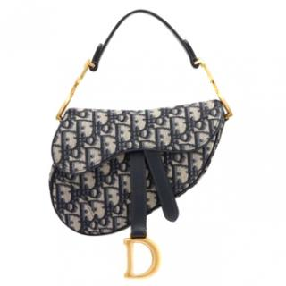 Dior monoram saddle bag