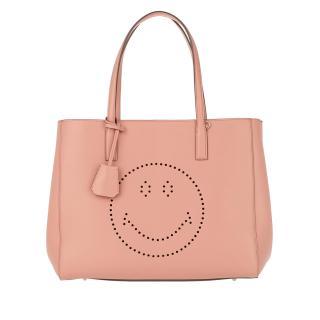 Anya Hindmarch Ebury leather shopper smiley