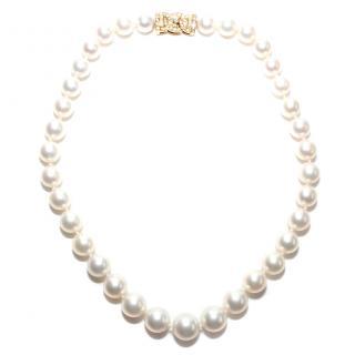 Garrard South Sea Pearl & Diamond 18ct Gold Necklace