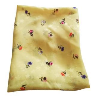 Balenciaga floral-jacquard silk scarf