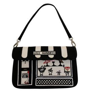 Lulu Guinness Embroidered Handbag