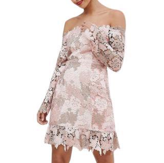 Elliatt Collective off-the-shoulder lace dress