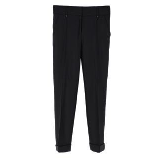 Belstaff tailored black trousers