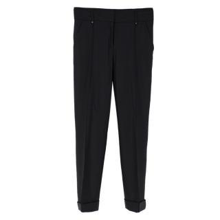 Belstaff tailored black trousers