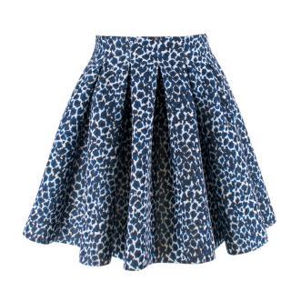 Maje 'Janet' High Waisted Skater Skirt