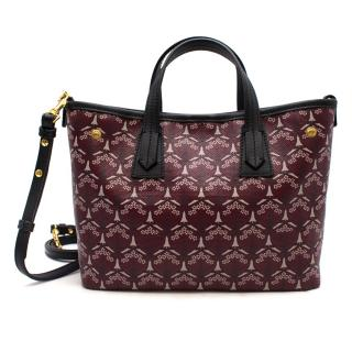 Liberty London Little Marlborough Burgundy Cross-Body Bag