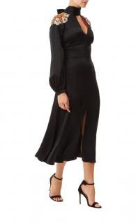 Temperley London Parachute Sequin-Embellished Satin Dress