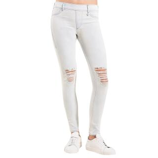 True Religion distressed stretch leggings