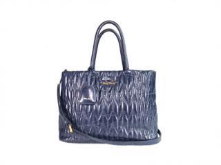 Miu Miu Vitello Shine Leather Trapu Bag