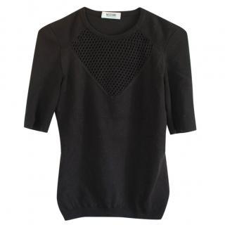 Moschino Black Heart Sweater