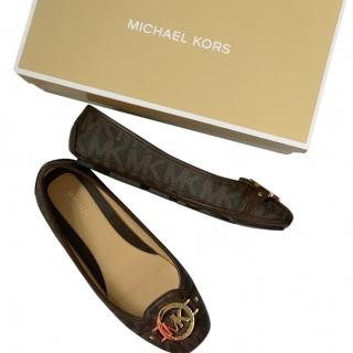 Michael Kors  logo-plaque flat shoes