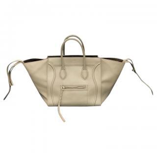 Celine medium taupe phantom luggage tote