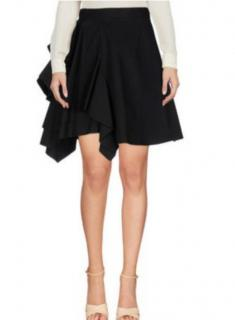 MSGM black ruffle skirt