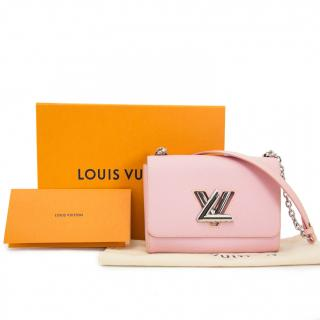 Louis Vuitton Baby Rose Ballerine Twist Lock MM