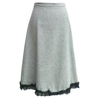 Anonymous by Ross + Bute wool skirt