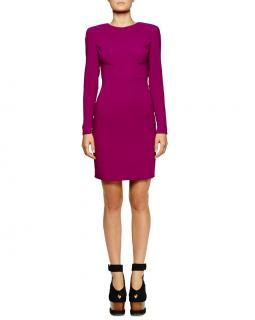 Stella McCartney Cut-out back Fitted Mini Dress