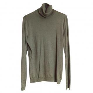 Ralph Lauren Cashmere & Silk-Blend Sweater