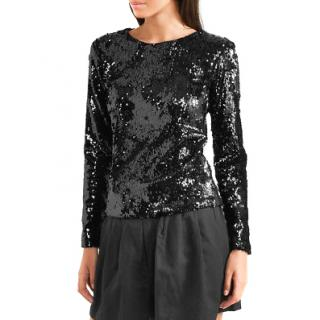 Racil 'Judy' Sequin-Embellished Tulle Top - New Season