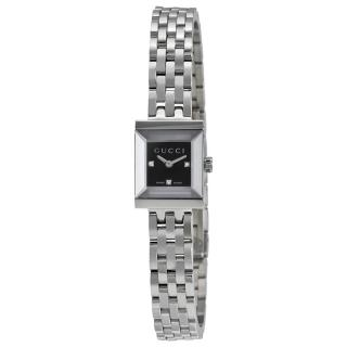 Gucci G-Frame Guilloche Dial Watch