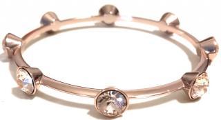 Givenchy embellished rose-gold tone bracelet