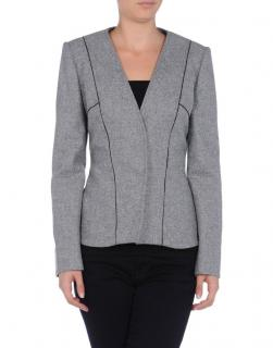 Fendi Wool-Felt Panelled Blazer